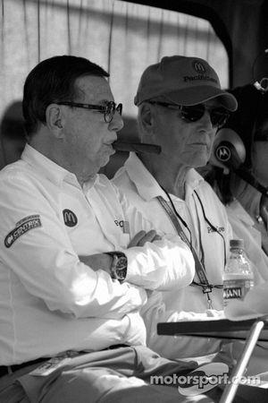 Carl Haas and Paul Newman