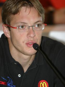 Pre-event press conference: Sébastien Bourdais