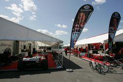 Le paddock PKV Racing