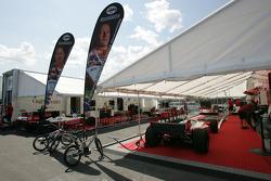 PKV Racing paddock area