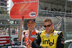 La parade des pilotes : A.J. Allmendinger