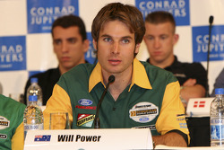 Indy breakfast: Will Power