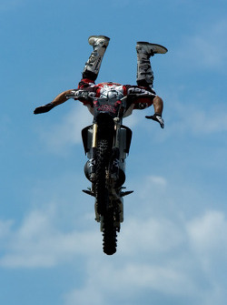 Freestyle motocross show