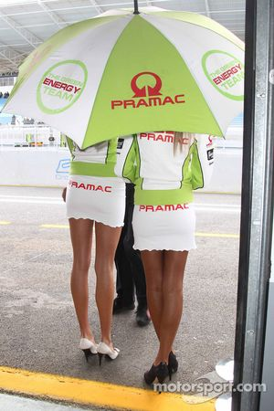 Pramac Racing chicas
