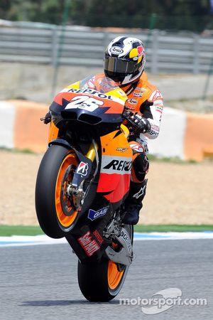 Ganador de la carrera Dani Pedrosa
