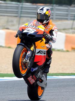 Победитель гонки - Дани Педроса
