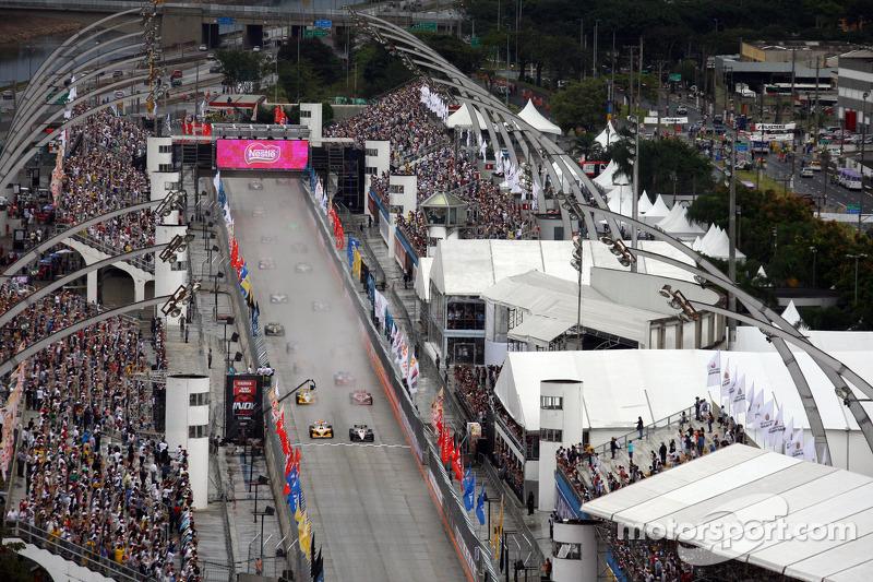São Paulo recebeu a Indy por quatro oportunidades
