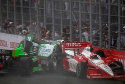 Problemen voor Danica Patrick, Andretti Autosport, Simona de Silvestro, HVM Racing, Helio Castroneve
