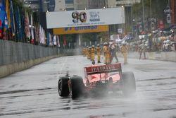 Problemen voor Tony Kanaan, KV Racing Technology-Lotus