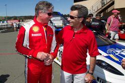 #454 Ferrari of Ft. Lauderdale Ferrari F430 Challenge: Rob Metka en Richard Spénard