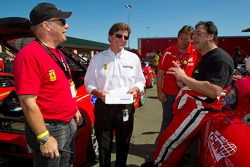 Didier Theys en #64 Algar Ferrari Ferrari F430 Challenge: Frank Fusillo