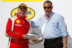 F430 podium: class winner Rob Metka