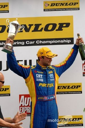 Third place: Andrew Jordan, Pirtek Racing