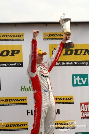 Second place: Matt Neal, Honda Racing