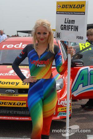 Liam Griffin, Airwaves Racing Grid girl