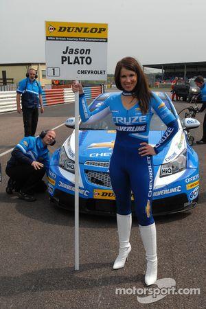 Sophie Fisher Grid girl to Jason Plato