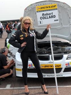 Rob Collard, WSR Grid girl
