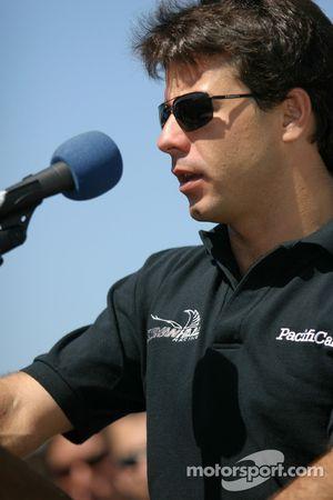 Molson Indy 2005 media event: Oriol Servia