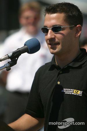 Molson Indy 2005 media event: Timo Glock