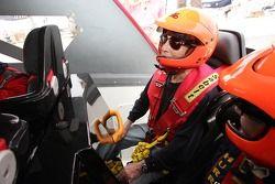 Première séance d'essai de Powerboat: Paul Newman