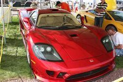 A Saleen sports car