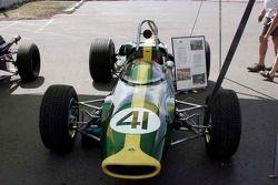 Vintage Lotus race car
