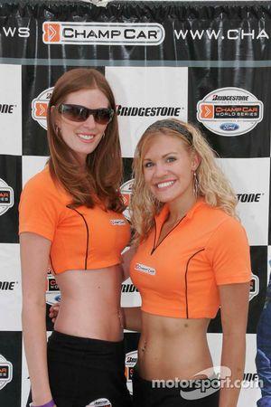 The lovely Champ Car girls
