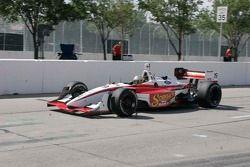 Mario Dominguez on pit lane