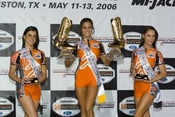 Podium: the lovely Face of Champ Car girls