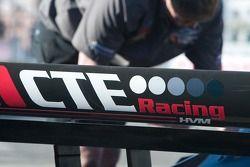 Rear wing of CTE Racing - HVM car