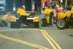 #77 Doran Racing team in the pit stop competition