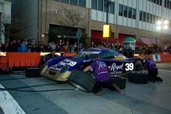 Cheever Racing team in pit stop competition