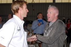 Memo Gidley and Paul Tracy
