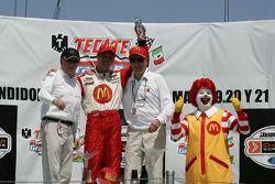 Carl Haas, Sébastien Bourdais, Paul Newman, Ronald McDonald