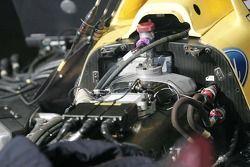 Détail du moteur de la Ford Rocketsports Racing