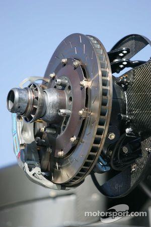 Un disque de frein CTE Racing - HVM