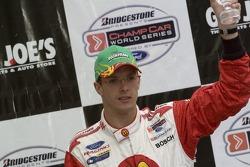 Victory podium: Sébastien Bourdais