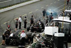 Garage de CTE Racing-HVM