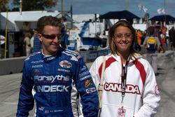 A.J. Allmendinger et sa fiancée