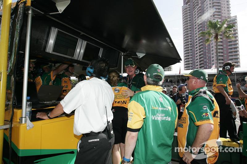 Stand du Team Australia