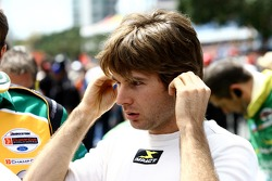 Will Power preparing for the race