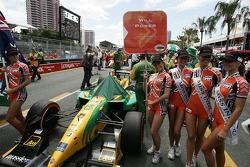 La voiture du Team Australia de Will Power
