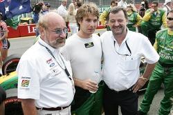Will Power en compagnie de plusieurs grands noms du sport auto