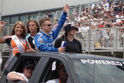 Drivers parade: A.J. Allmendinger