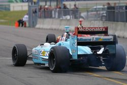 Team Newman Haas Lanigan Racing chasing away