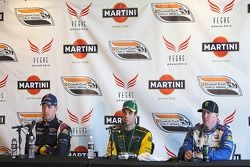 Press conference: race winner Will Power with Robert Doornbos and Paul Tracy