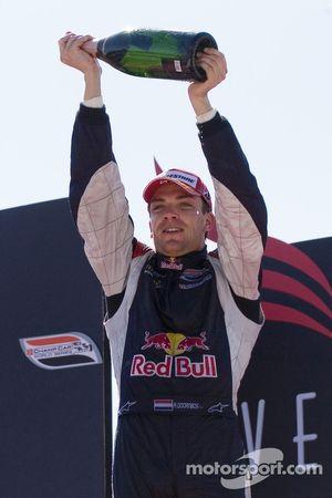 Robert Doornbos celebrates