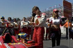 Sébastien Bourdais se prepara para su última carrera de Champ Car