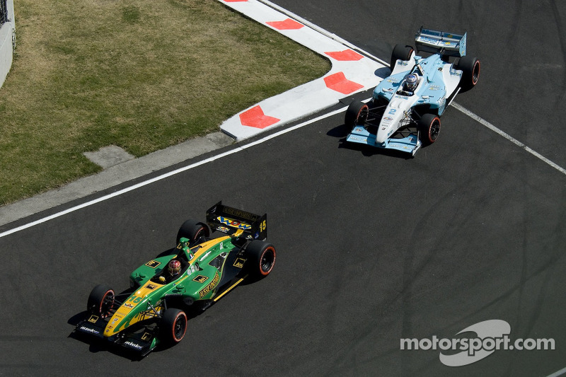 Simon Pagenaud y Graham Rahal