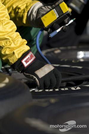 Preparación de neumáticos